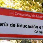 Teléfono Consejeria Educacion Madrid
