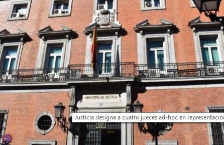 Teléfono Ministerio de Justicia