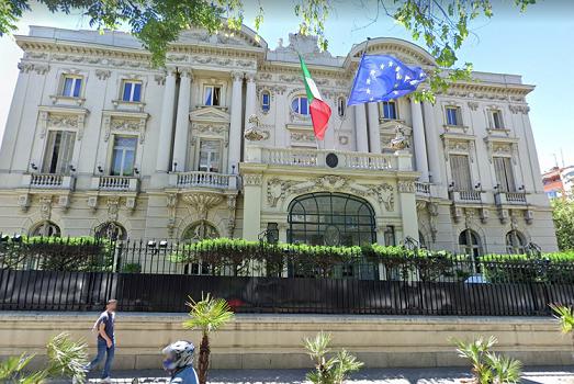 Teléfono Embajada de Italia en España