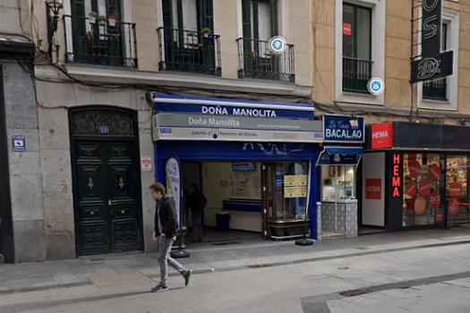 Teléfono Doña Manolita