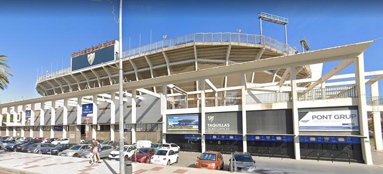 Teléfono Estadio La Rosaleda